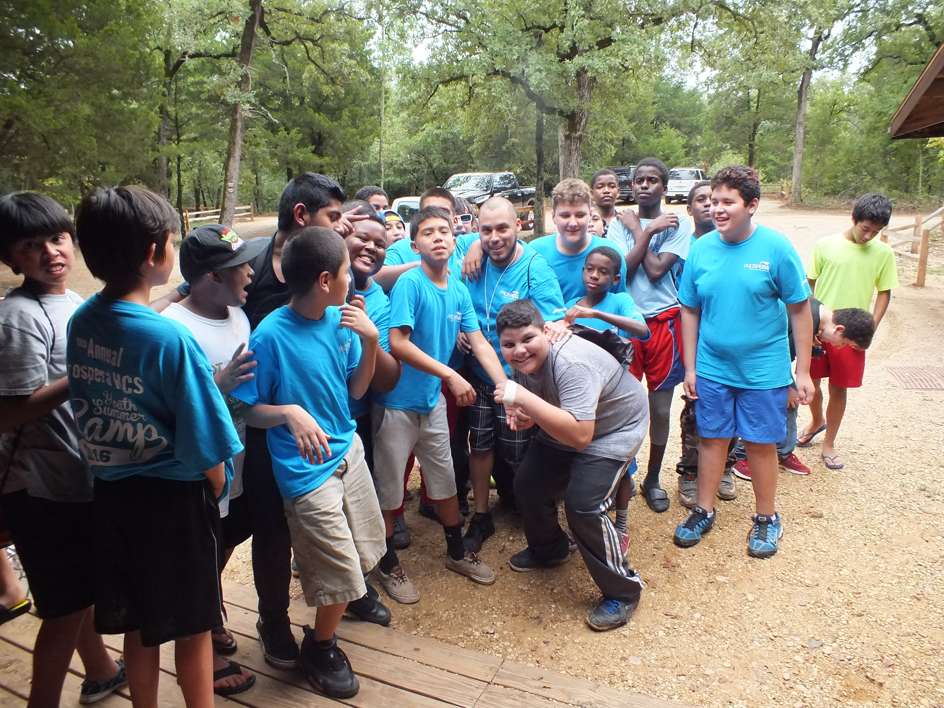 Over 100 Top Preforming Youths attended Summer Camp as Ultimate Reward
