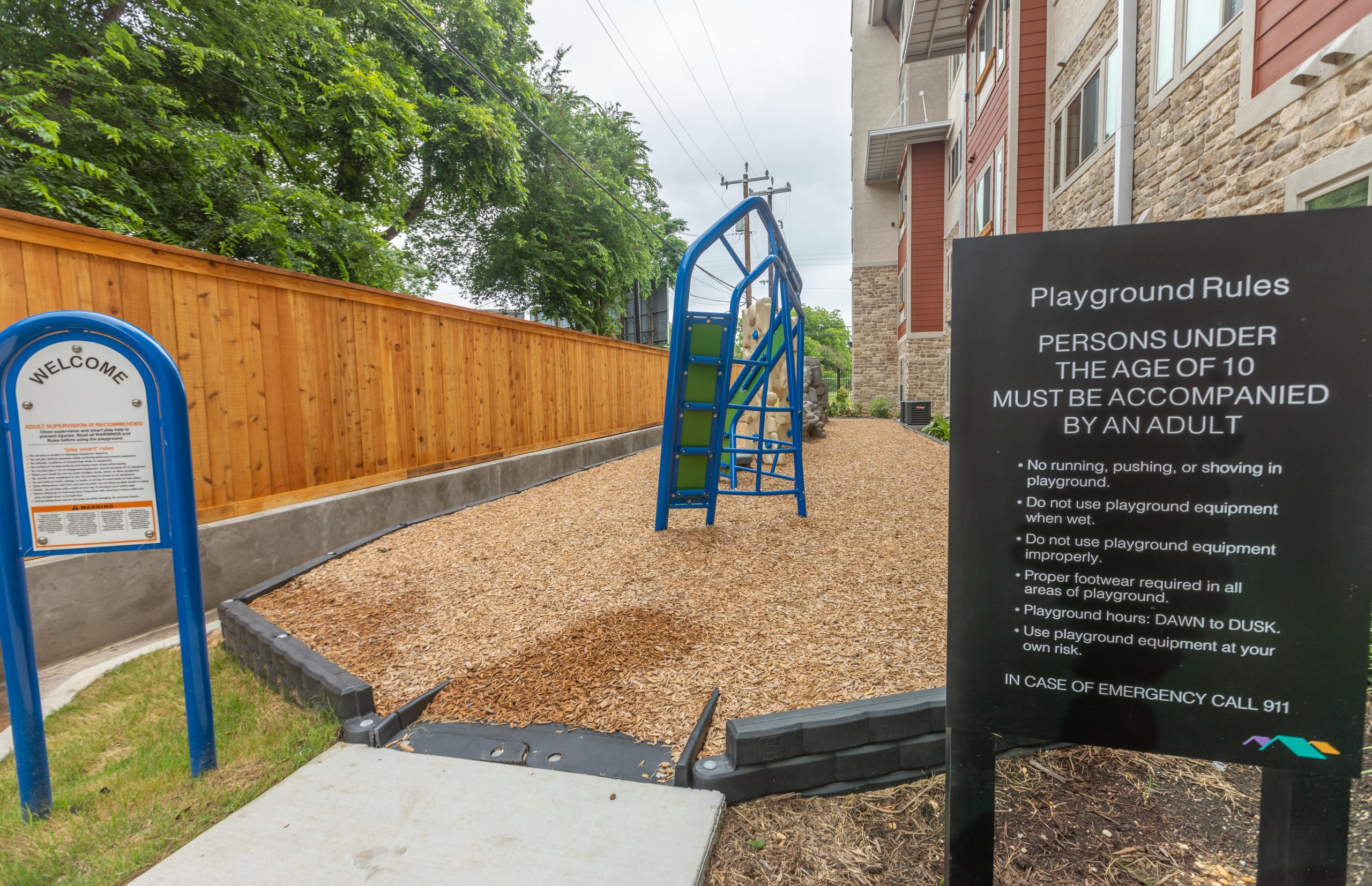 playground rules and playscape image
