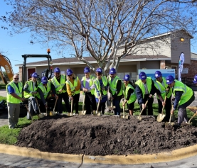 Groundbreaking Held for Reconstruction of Casa de Manana Apartments (Corpus Christi)