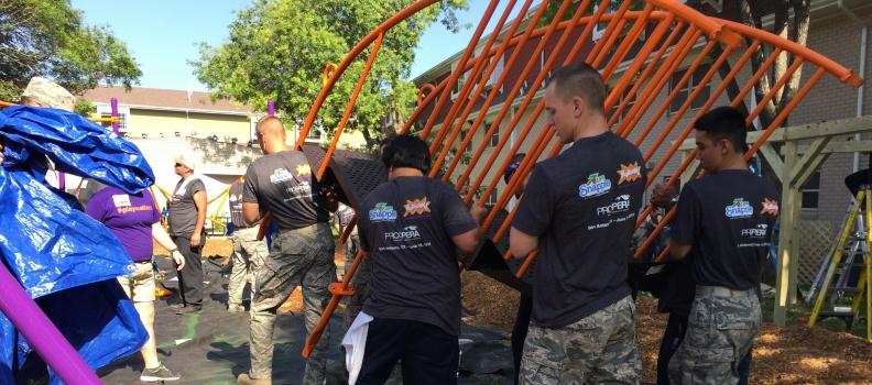 200 Volunteers to Improve San Antonio Kids' Lives & Futures with Play