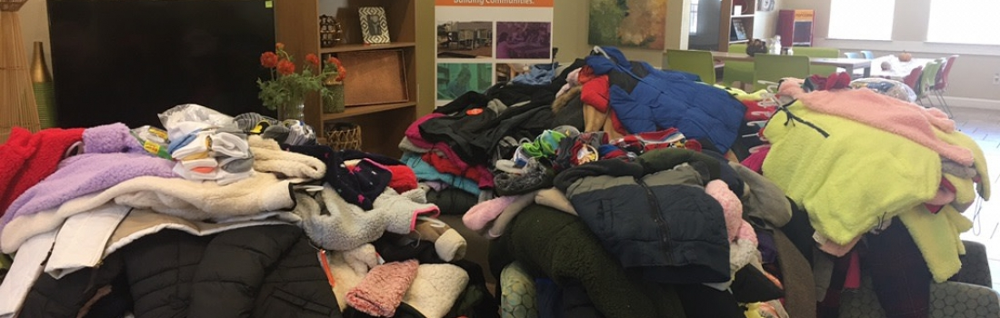 Prospera in the News: Local Group Collected 400 Coats for Kids in Need