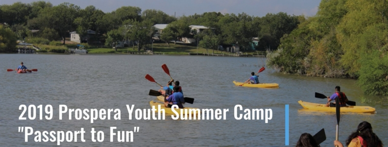Prospera Youth Residents Enjoy Fun in the Sun at Summer Camp